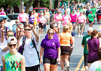 North Shore Cancer WALK crowds