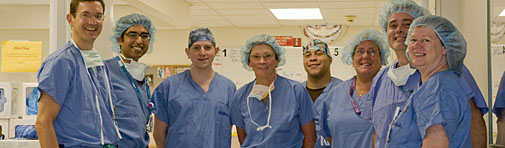 North Shore surgery team at Salem hospital