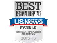 NSMC ranked top five hospital in Boston metro area