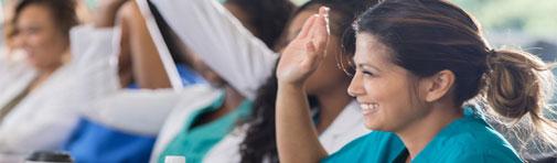 professional development class for NSMC nurses