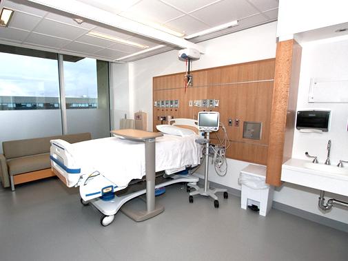 Inpatient accomodations at hospital near Boston