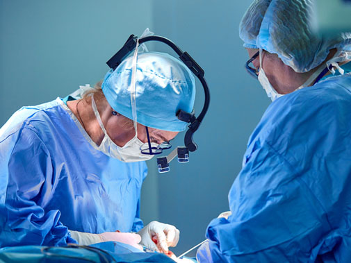 Plastic and Reconstructive surgery at Boston area hospital
