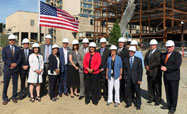 NSMC Celebrates Construction Milestone with Topping Off Ceremony